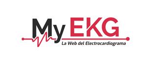 Logotipo My EKG, la web del Electrocardiograma